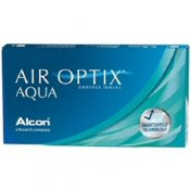 Air Optix Aqua maandlenzen 3-pack